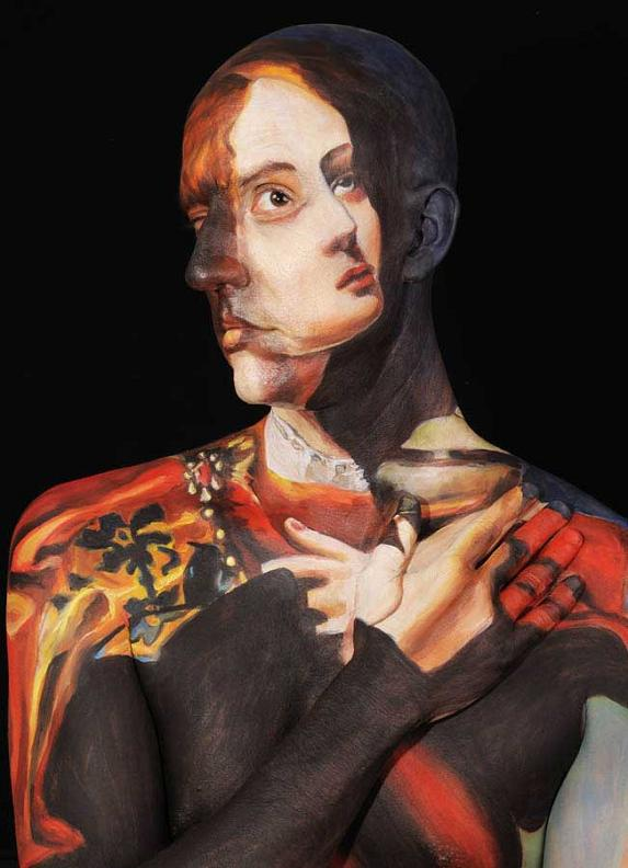 museum anatomy chadwick and spector body painting classic art 24 Museum Anatomy: Body Painting by Chadwick & Spector