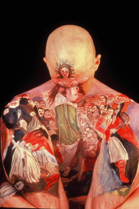 museum anatomy chadwick and spector body painting classic art Museum Anatomy: Body Painting by Chadwick & Spector