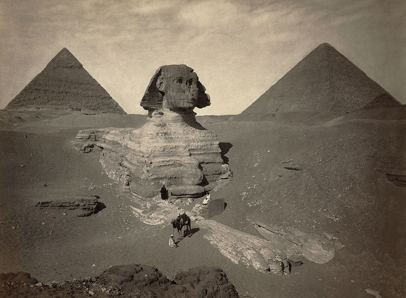 sphinx partially excavated Picture of the Day: Uncovering History