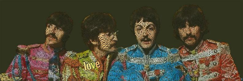 the beatles word art The Wonderful Word Art of Juan Osborne [20 pics]