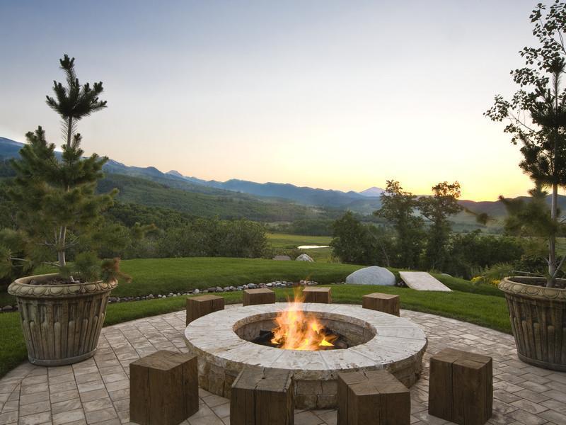 tuscan estate aspen colorado 5 Wow! $35.75m Tuscan Inspired Estate in Aspen, Colorado