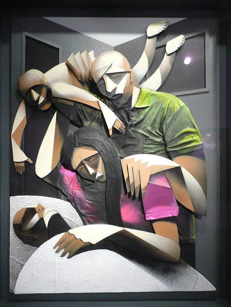 adam neate artist 3d artwork paintings 28 Astonishing 3D Collages by Adam Neate [30 pics]