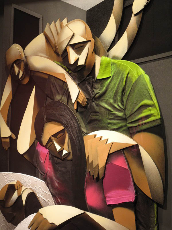 adam neate artist 3d artwork paintings 7 Astonishing 3D Collages by Adam Neate [30 pics]