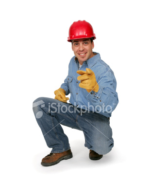 construction worker pointing Fun With Stock Photography: Pointing [47 pics]
