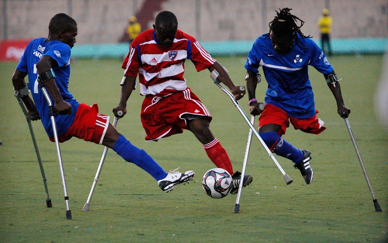 haiti amputee soccer team Picture of the Day: Haiti   Hope & Despair, 1 Year Later