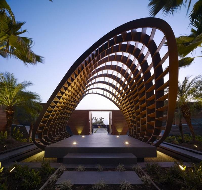 kona residence hawaii belzberg architects 1 The Stunning Kona Residence in Hawaii by Belzberg Architects