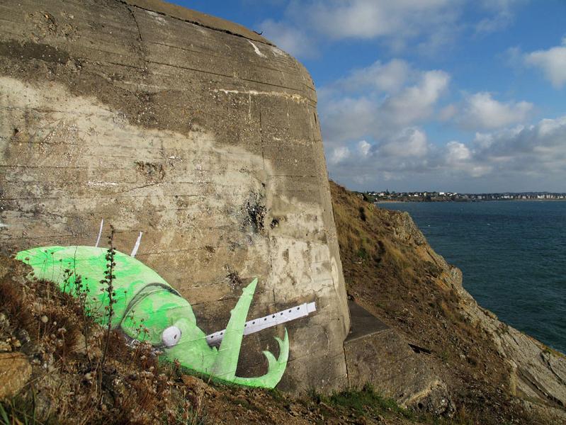 ludo street art natures revenge 11 Incredible Street Art of LUDO: Natures Revenge pt. 2 [28 pics]