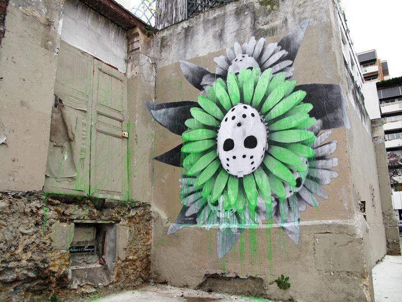 ludo street art natures revenge 25 Incredible Street Art of LUDO: Natures Revenge pt. 2 [28 pics]