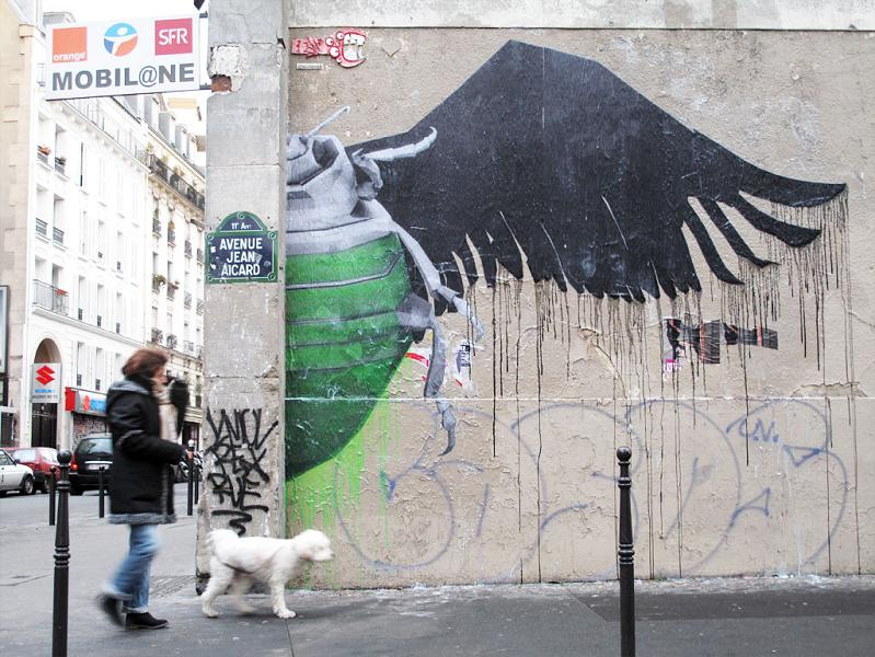 ludo street art natures revenge 26 Incredible Street Art of LUDO: Natures Revenge pt. 2 [28 pics]