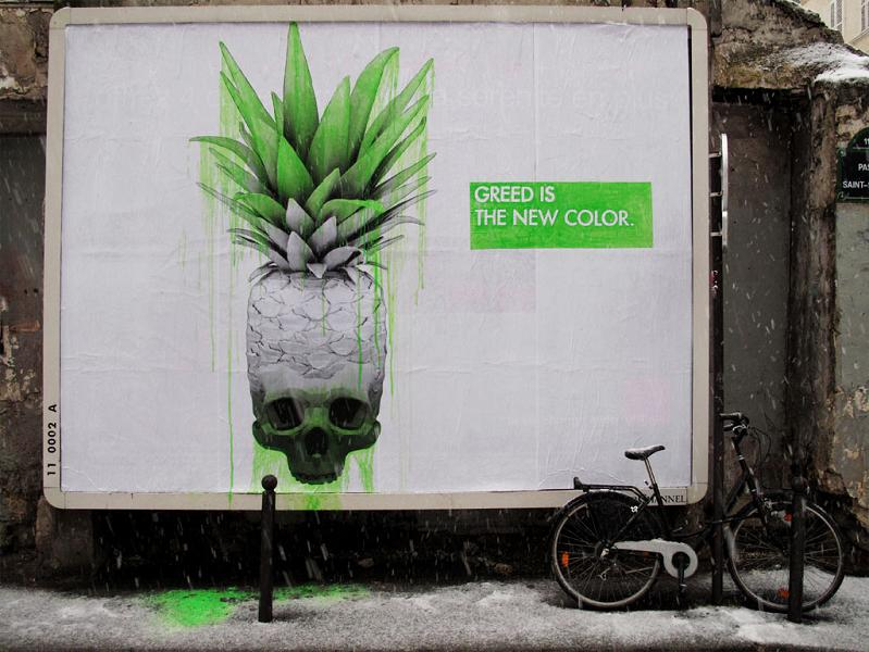 ludo street art natures revenge 27 Incredible Street Art of LUDO: Natures Revenge pt. 2 [28 pics]