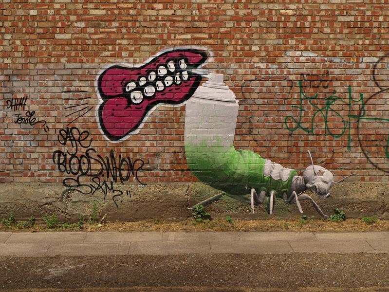 ludo street art natures revenge 8 Incredible Street Art of LUDO: Natures Revenge pt. 2 [28 pics]