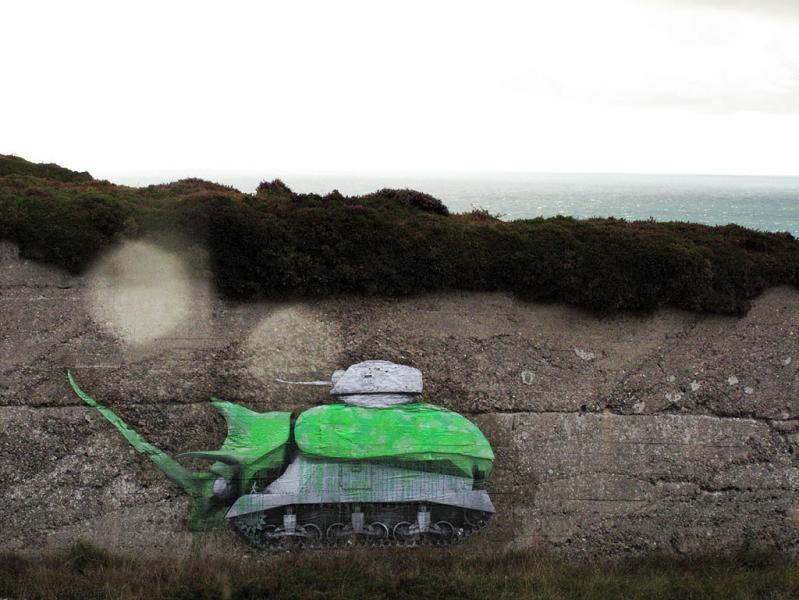 ludo street art natures revenge 9 Incredible Street Art of LUDO: Natures Revenge pt. 2 [28 pics]