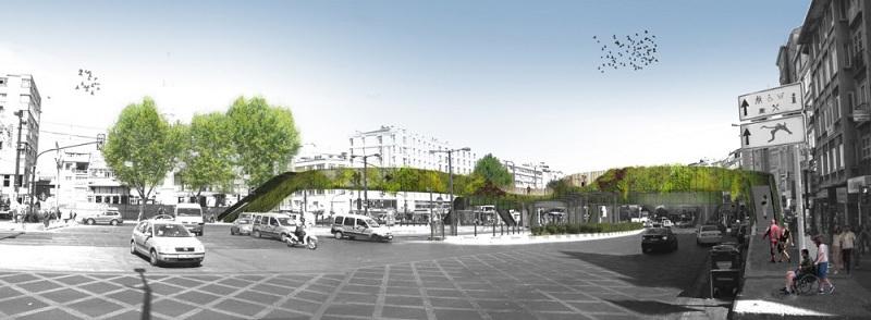 pedestrian footbridge istanbul winner lea invent 1 Winner of the Istanbul Pedestrian Footbridge Design Competition