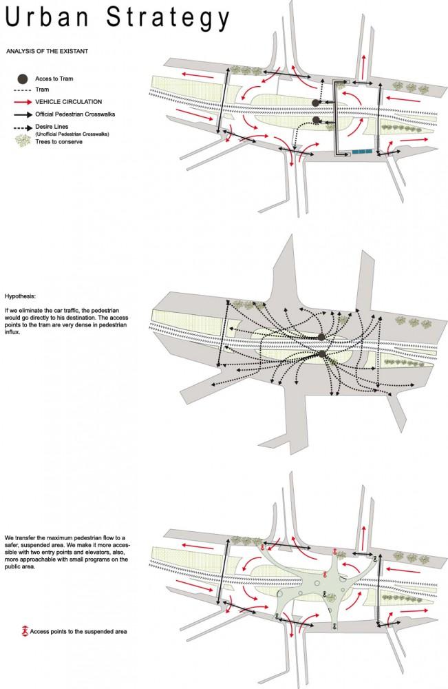 pedestrian footbridge istanbul winner lea invent 4 Winner of the Istanbul Pedestrian Footbridge Design Competition
