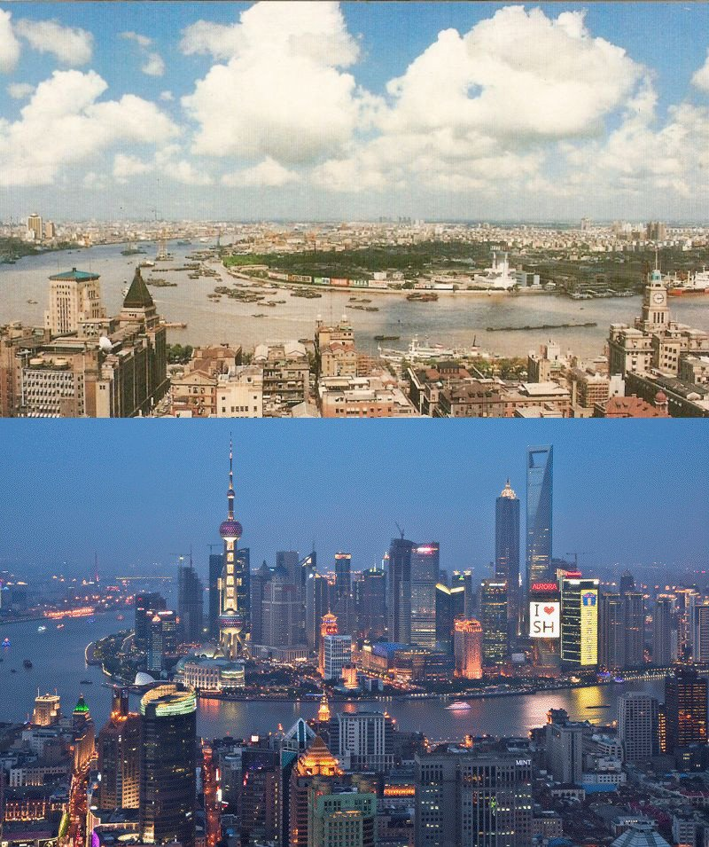 shanghai-then-and-now-1990-vs-2010