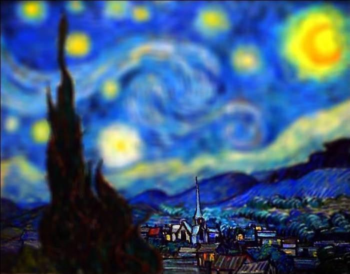 Amazing Tilt-Shift Van Gogh Paintings [16 Pics]