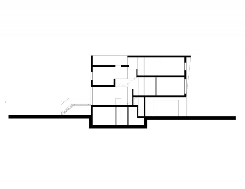 251 lumsden toronto shaft house reza aliabadi 17 Shaft House by Reza Aliabadi   Tall House, Narrow Lot