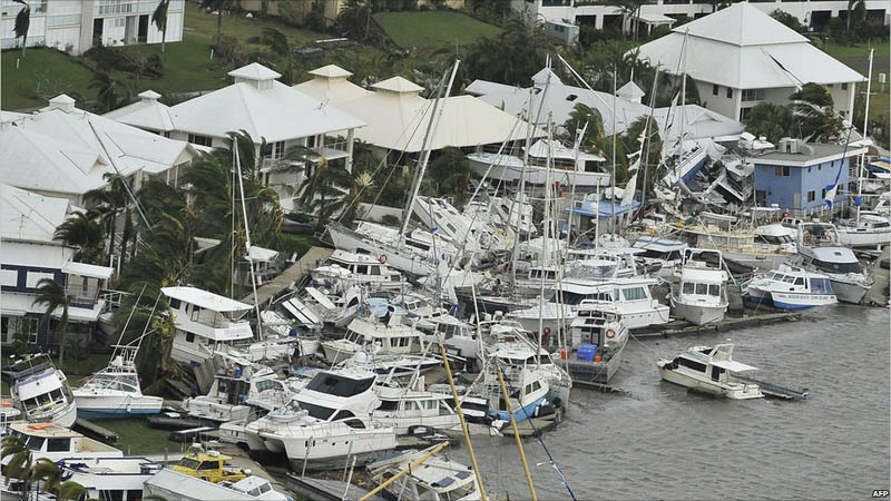 Picture of the Day: Cyclone Yasi, the Party Crasher