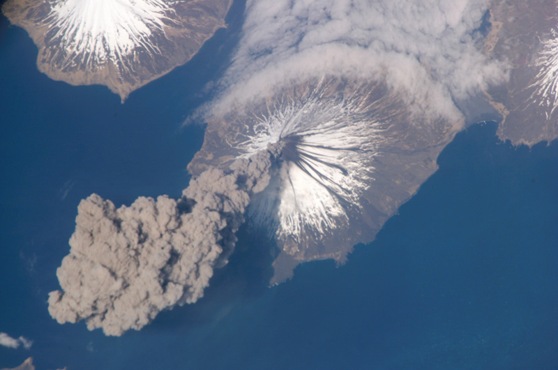 eruption of cleveland volcano aleutian islands alaska 10 Things You Didnt Know About the International Space Station