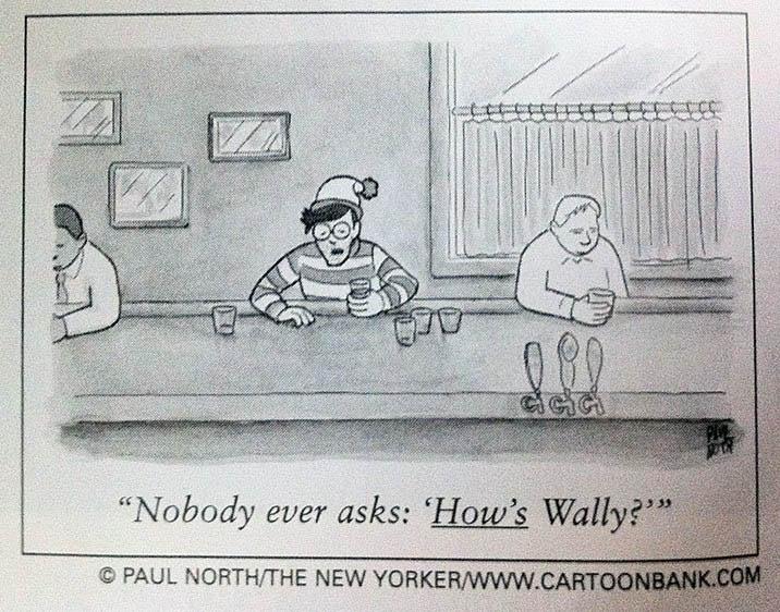 hows waldo wally comic new yorker Hows Waldo? [Comic Strip]