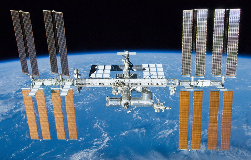 iss above earth 10 Things You Didnt Know About the International Space Station