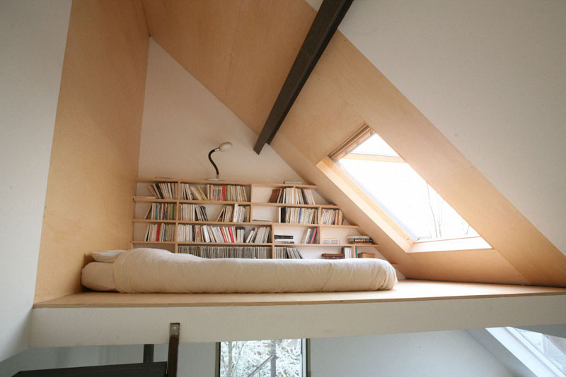 loft bed Picture of the Day: Lofty Dreams