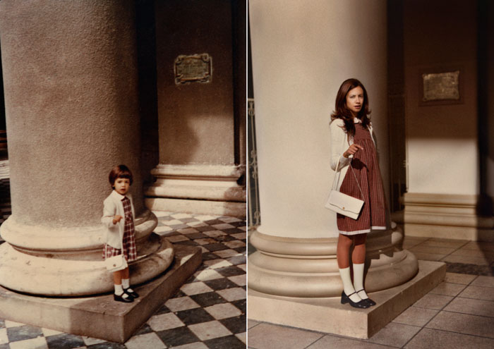 recreating childhood photos irina werning 10 Recreating Photos from Childhood