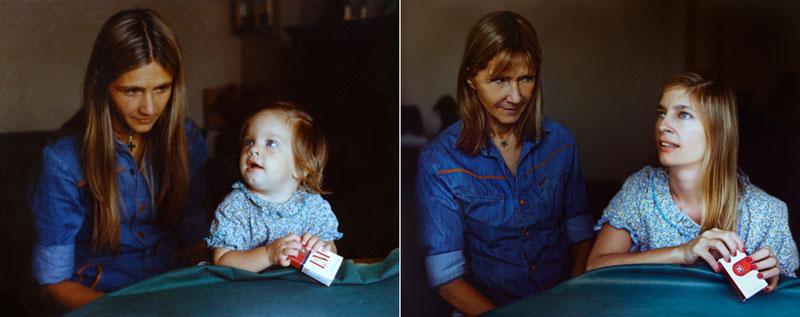 recreating childhood photos irina werning 14 Recreating Photos from Childhood