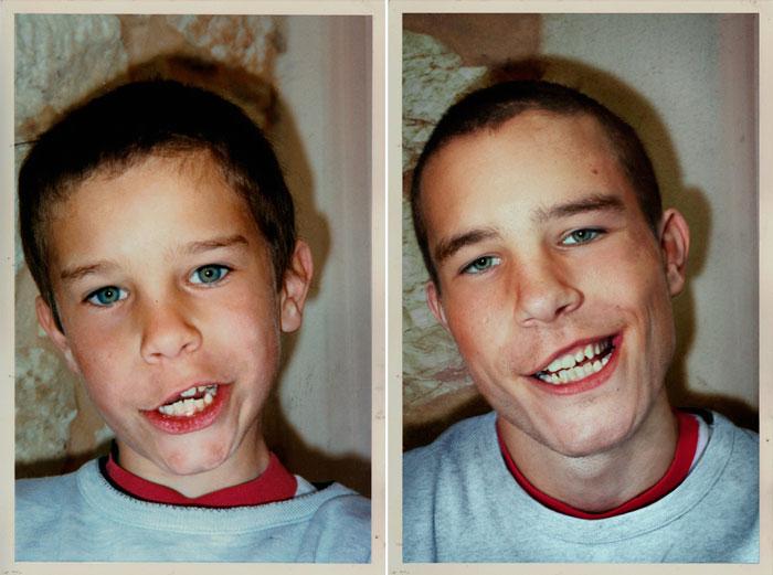 recreating childhood photos irina werning 19 Recreating Photos from Childhood