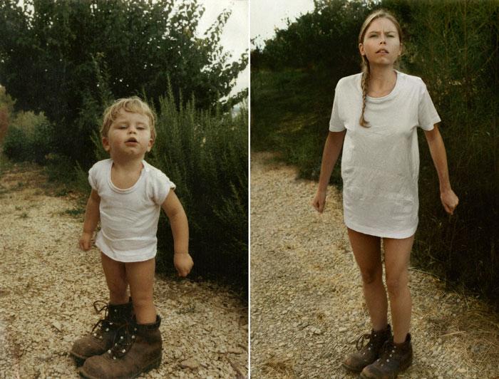 recreating childhood photos irina werning 4 Recreating Photos from Childhood