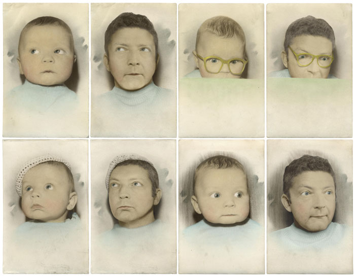 recreating childhood photos irina werning 6 Recreating Photos from Childhood