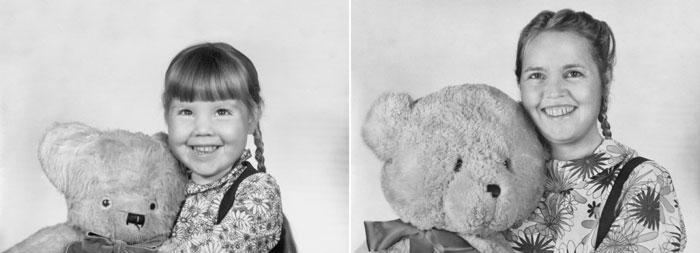 recreating childhood photos irina werning 7 Recreating Photos from Childhood