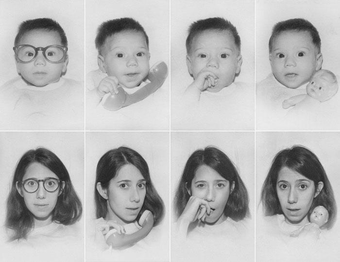 recreating childhood photos irina werning 8 Recreating Photos from Childhood