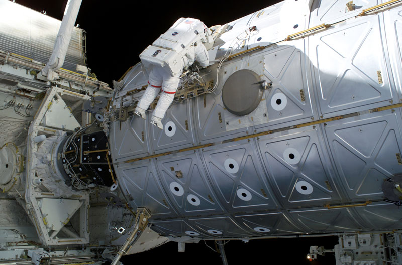 spacewalk on iss 10 Things You Didnt Know About the International Space Station