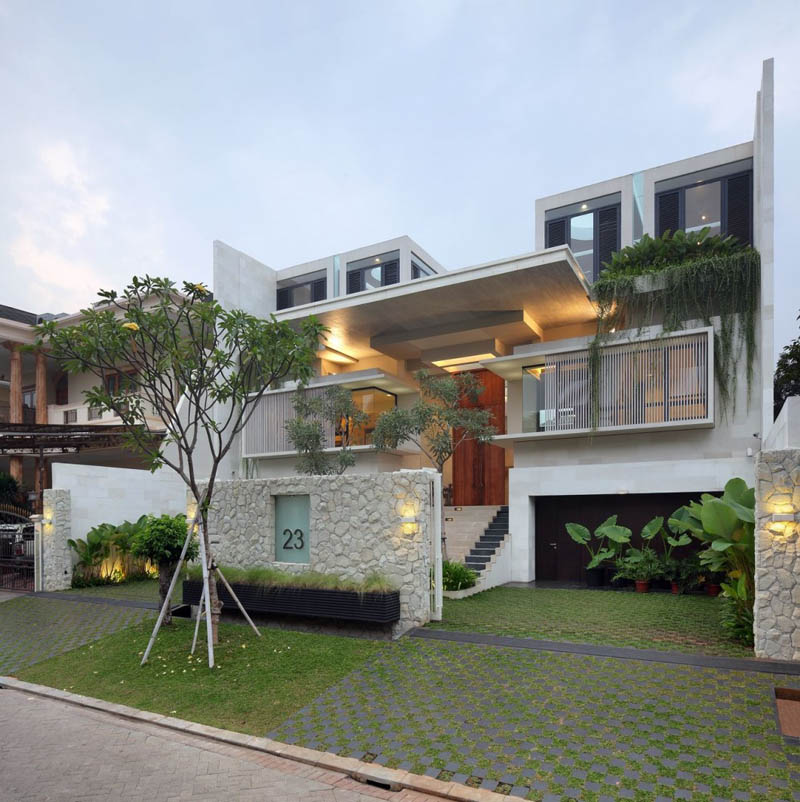 static house jakarta indonesia tws and partners 1 The Stunning Static House in Jakarta, Indonesia [30 pics]