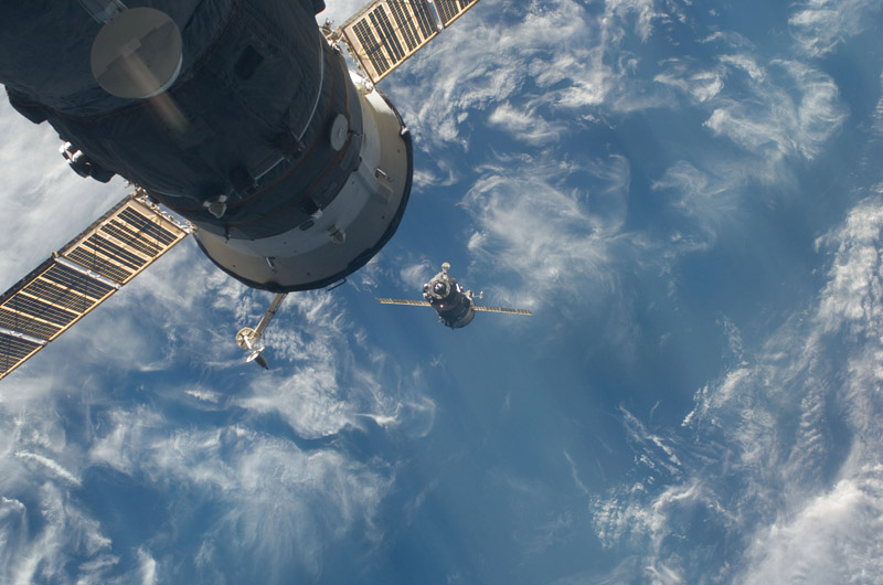 the soyuz tma 17 spacecraft 10 Things You Didnt Know About the International Space Station