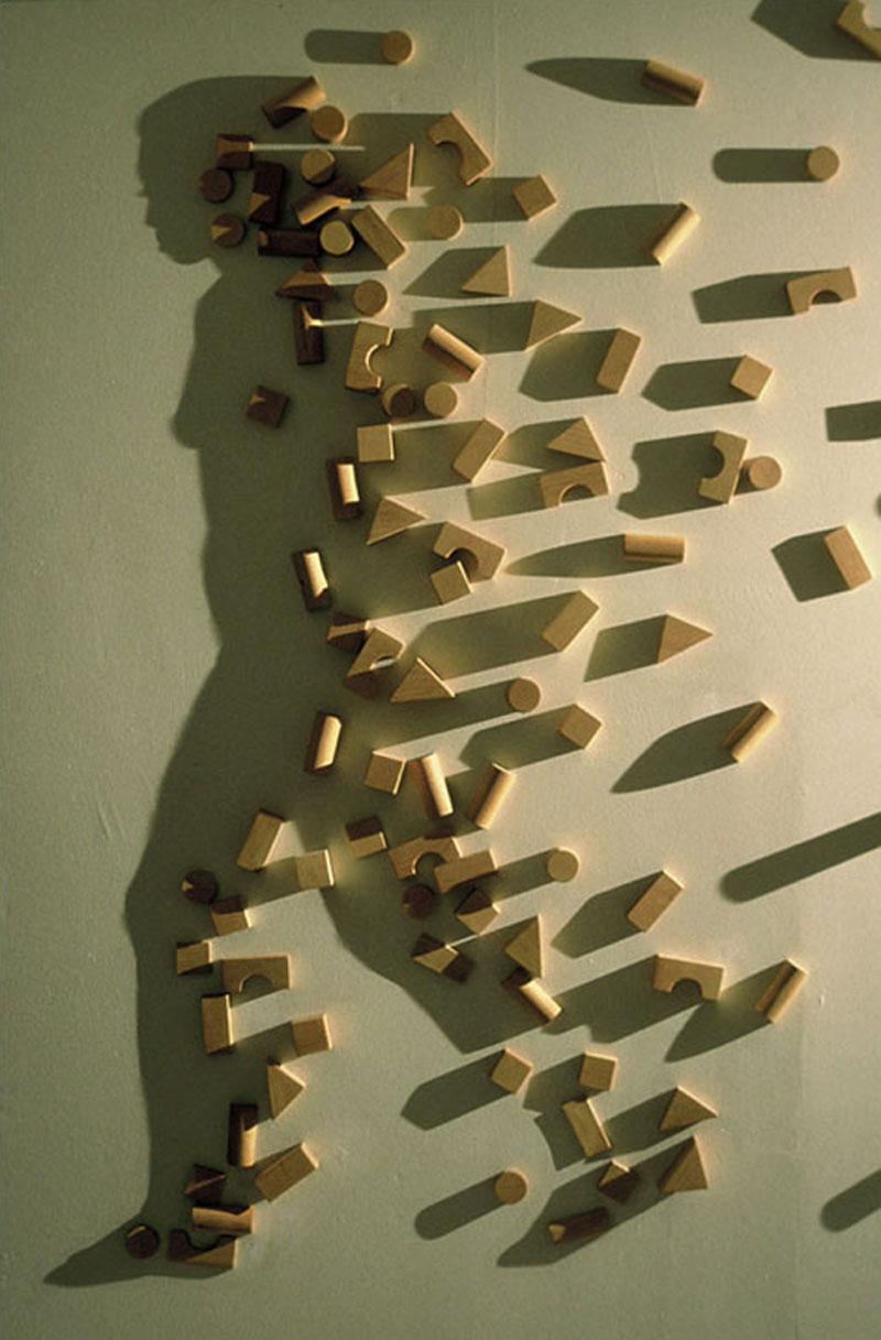 building blocks shadow play kumi yamashita boise art museum idaho Picture of the Day: Shadow Play with Building Blocks