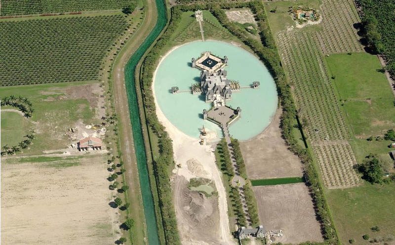 charles siegers property in miami dade Picture of the Day: A Castle in Miami?!?