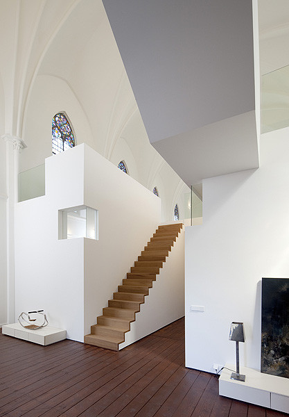 church conversion into residence utrecht the netherlands zecc architects 10 Converting a Church Into a Family Home
