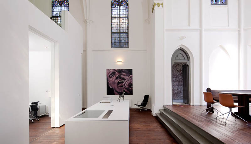 church conversion into residence utrecht the netherlands zecc architects 14 Converting a Church Into a Family Home