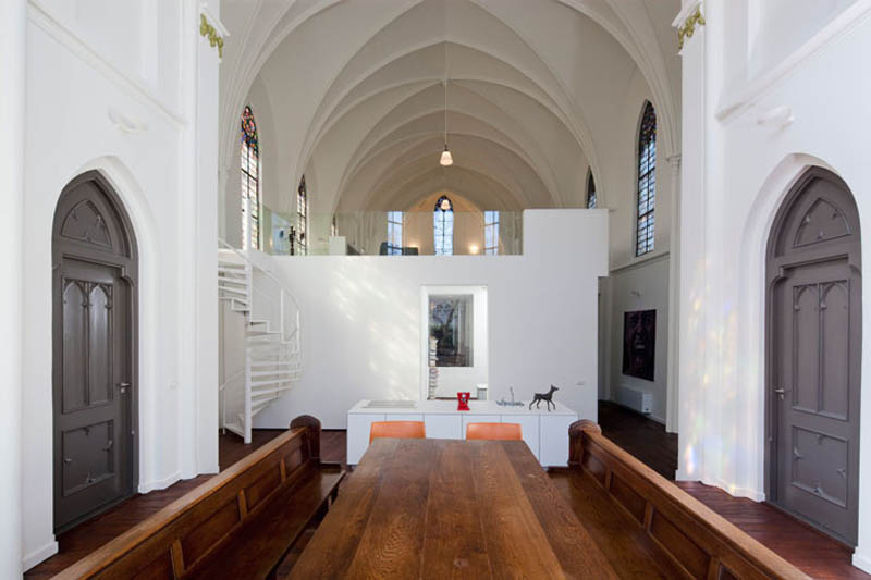 church conversion into residence utrecht the netherlands zecc architects 18 Converting a Church Into a Family Home
