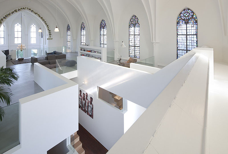 church conversion into residence utrecht the netherlands zecc architects 4 Converting a Church Into a Family Home