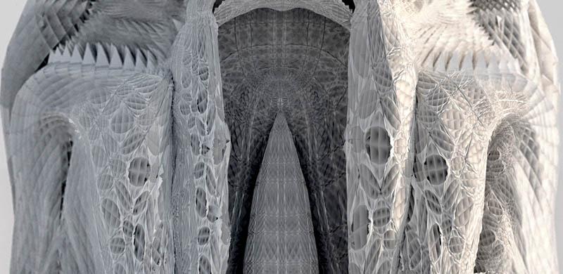 complex doric columns michael hansmeyer mandelbrot 19 The Worlds Most Complex Architectural Columns