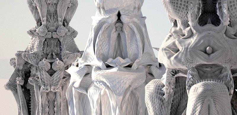 complex doric columns michael hansmeyer mandelbrot 20 The Worlds Most Complex Architectural Columns