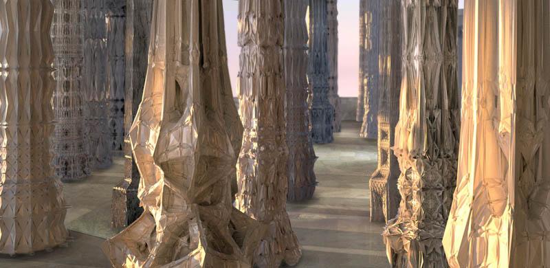 complex doric columns michael hansmeyer mandelbrot 21 The Worlds Most Complex Architectural Columns