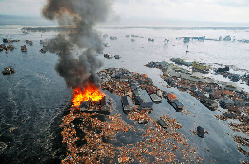 earthquake tsunami japan 2011 Picture of the Day: Devastation in Japan