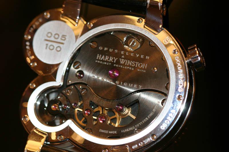 harry winston opus 2011 watch The Harry Winston Opus Watch Series