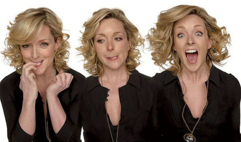 jane krakowski acting in character Funny Faces: Famous Actors Acting Out [20 Pics]