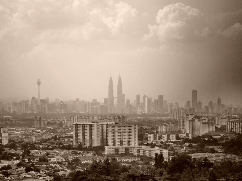 kuala lumpur malaysia skyline aerial 25 Stunning Skylines Around the World