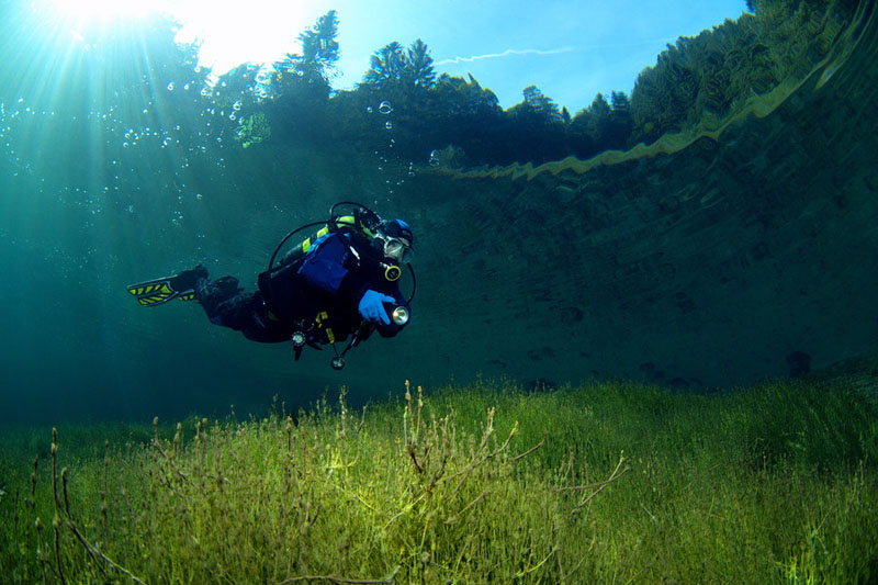 lake sameranger tyrol austria crystal clear water Picture of the Day: Crystal Clear Waters